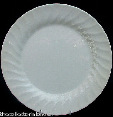 Churchill Chelsea White Pattern Large Size Dinner Plates 25cm Dia New & Unused