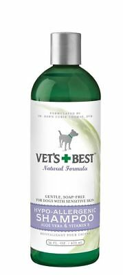 Vet's Best Hypo-Allergenic Natural Shampoo 16oz  will not affect flea products
