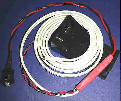 Low Water Level Silent Alarm With With Random Colour Flashing LED 9V