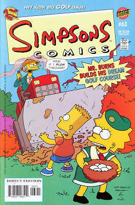 Bongo comics Simpsons #63 NM-/nm FREE UK POST