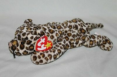 Freckles the Leopard - Ty Teenie Beanie Babies - new with Tag