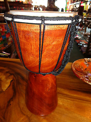 Quality Hand Made Drum 30 Cm High Plain Bongo Drum Djembe Rrp $40 W/sale Outlet