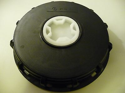 "Schutz IBC 6"" Tote/Sprayer Tank Cap/Top For 275/330 Gal Container 31 HA1 Black"