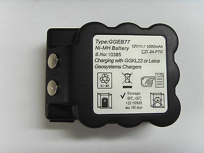 Brand New GEB77 GEB 77 Ni-MH BATTERY SURVEYING for leica TOTAL STAITONS