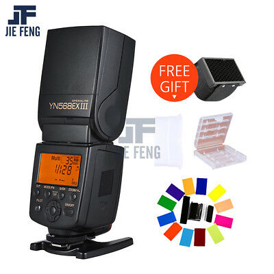 Yongnuo YN-568EX III Flash Speedlite Wireless Slave TTL HSS 1/8000 for Nikon