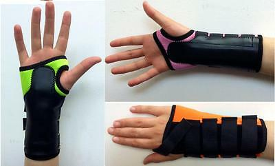 Coloured Neoprene Wrist Brace Support Splint Carpal Tunnel Arthritis Sprain RSI
