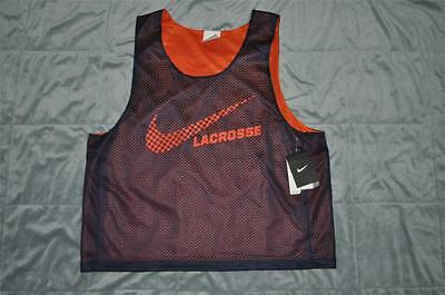 Nike Lacrosse Reversible Jersey Navy/Orange Mens Multiple Sizes NWT