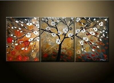 Modern Abstract flower Wall Art Oil Painting On Canvas (no frame)