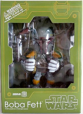 BOBA FETT Star Wars Empire Strikes Back Medicom VCD Vinyl Collectible Figure '07