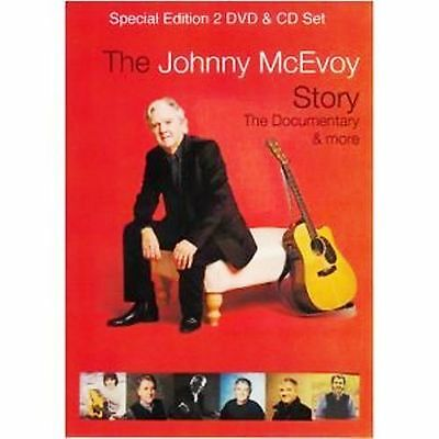 Johnny Mcevoy The Story Documentary & More 2 Dvd + Cd Set Definitive Collection