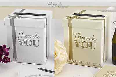 Wedding Card Post Box / Receiving Box / Wishing Well -Great for Party- 2 Colours