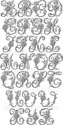"ABC Designs Victorian Whitework Machine Embroidery Alphabet 5""x7"" Hoop"