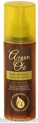 Heat Defence Protector Leave In Spray With Moroccan Argan Oil Extract 150ml