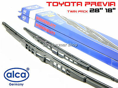 TOYOTA PREVIA 2000-ON front windscreen WIPER BLADES 28''18'' !!! TWIN PACK