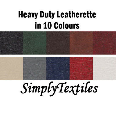 "Heavy Duty Faux Leather, Leatherette, Upholstery, Vinyl Fabric 54"" Width"