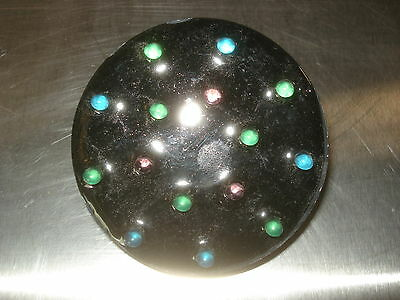 "LED Disc pucks - Multi color - 4 pin - 3"" w - USED - LOT OF 15"