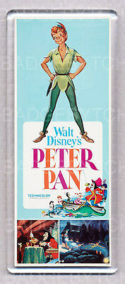 PETER PAN movie poster LARGE FRIDGE MAGNET - CLASSIC!