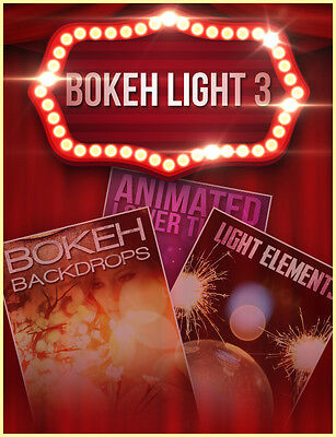 Bokeh Light 3 (motion graphics) wedding lower thirds bokeh (same day download)
