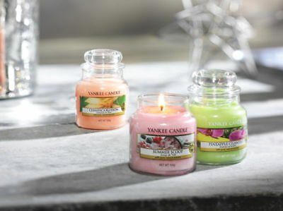 YANKEE CANDLE SMALL 3.7 oz HOUSEWARMER JAR COLLECTION - 25 - 40 HOURS BURN TIME