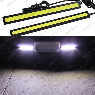 Super Bright COB White LED Lights for DRL Fog Driving Lamp with Kit (2 Pieces)