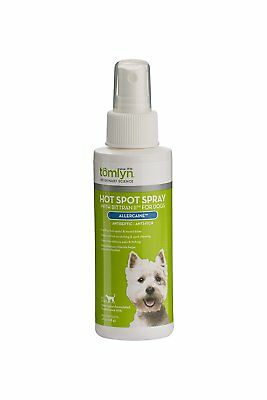 Tomlym, Allercaine, antiseptic, anti-itch spray for dogs, soothes hot-spots 4oz
