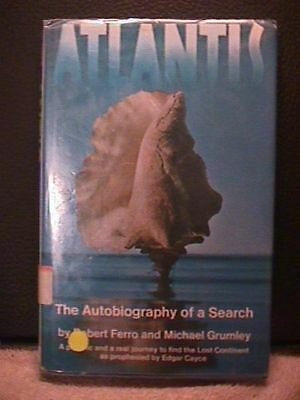Atlantis The Autobiography Of A Search   Robert Ferro and Michael Grumley   B9