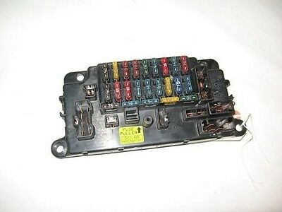 88-91 honda prelude oem inside interior in-dash fuse box block with fuses