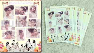 KPOP girls generation SNSD new 10 sheets of sticker_wedding