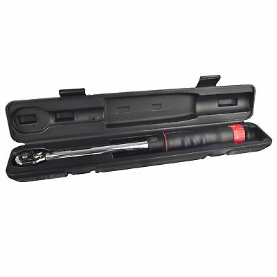 """1/4"""" drive torque wrench bidirectional left right handed 630Nm U.S.PRO AT436"""