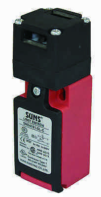 SUNS SND4191-SL-A Key Operated Safety Interlock Switch With Key Includ 1NO 1NC