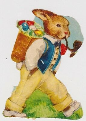 (OS86) 1940 GB swaps Easter bunny with a pipe
