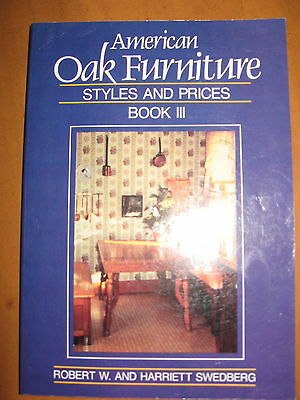 American Oak Furniture Styles and Prices Book III