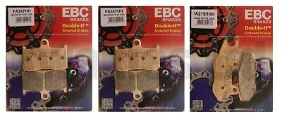 Triumph Tiger 1050 2007-2011 Set of Sintered EBC HH Front and Rear Brake Pads