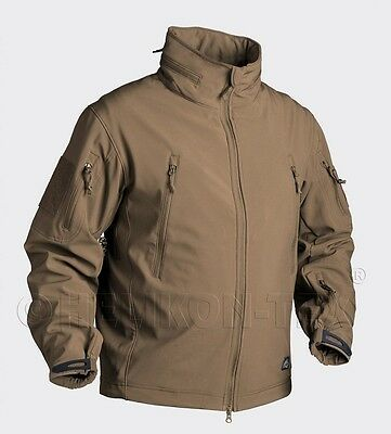 Helikon US GUNFIGHTER Shark Softshell Soft Shell Jacke Outdoor Jacket Coyote M