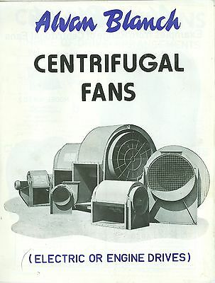 Alvan Blanch Centrifugal Fans Brochure