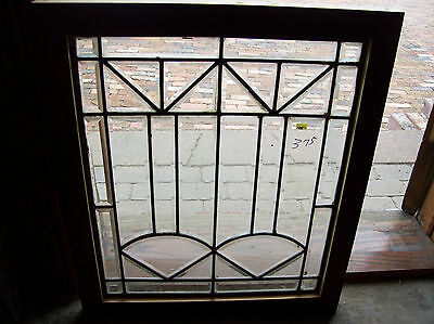 arts and crafts beveled glass window    (SG 1492)