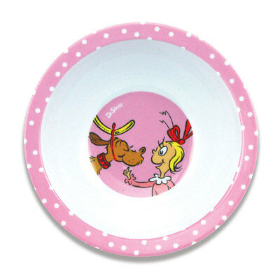 Dr. Seuss Melamine Bowl - Cindy Lou.  New by Bumkins