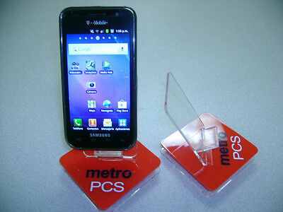 LOT OF 100 NEW STAND HOLDER CELL PHONE DISPLAY 1 in 1 METROPCS