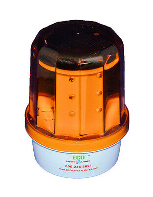 S12LM GREEN  LED SOLAR BEACON SOS REVOLVING  FLASHING SOS SAFETY LIGHT
