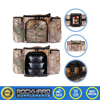Innovator 300 6 Pack Fitness Bag Small 3 Compartments Gym Training Meal