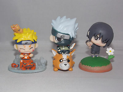 Naruto Japanese Anime Mini Figures 5cm Boxed CHN Ver.