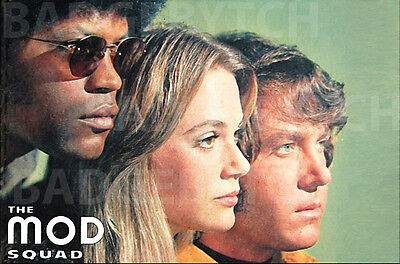 THE MOD SQUAD LARGE FRIDGE MAGNET - TV CLASSIC!  design 'A'