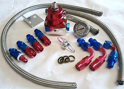 Fuel Pressure Regulator Choice of style and colour available