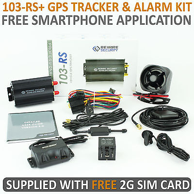 TK103 Car Vehicle GPS Tracker GPRS GSM Full Tracking System Alarm Device -A0017