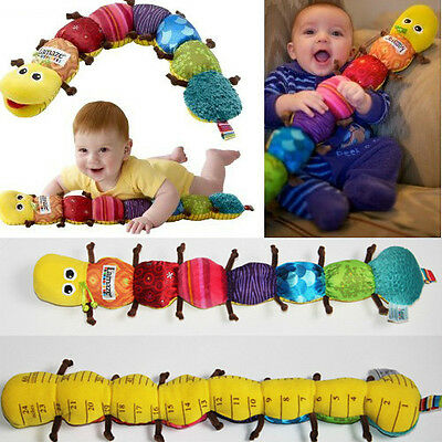 Popular and Colorful Musical Inchworm Soft Lovely Developmental Child Baby Toy
