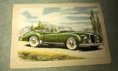 1951 DELAGE Conv  Jacques Chocolates BELGIUM Trade Swap Card - RARE !