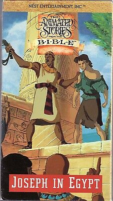 animated bible stories from the bible joseph in egypt vhs