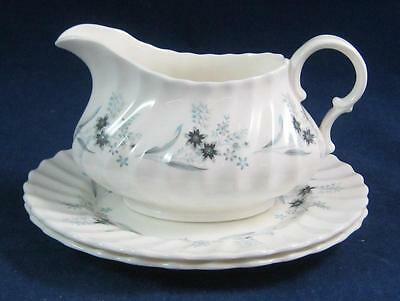 Royal Doulton MILLEFLEUR 2 Bread & Butter Plates and Creamer GREAT COND H4953