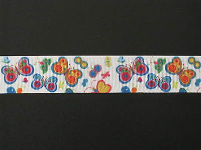 "bubbles colourful grosgrain ribbon 7//8/"" per 1 m hair scrapbooking card making"