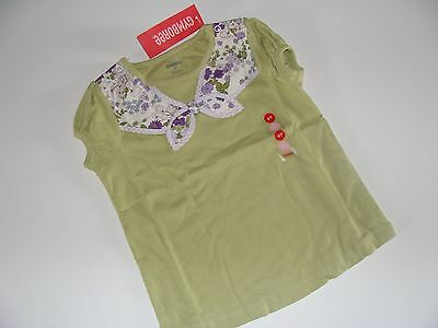 NWT Gymboree COWGIRL AT HEART Sage Green Floral Scarf Top Shirt